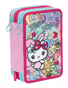 Astuccio triplo Seven Hello Kitty