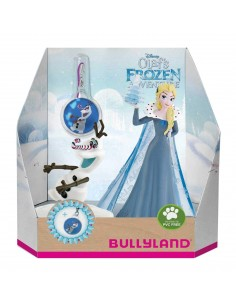 Figure personaggio set 2pz con ciondolo Frozen