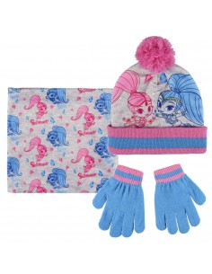 Set 3 pezzi invernale Shimmer and Shine