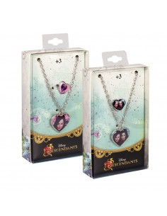 Set Collana + Anello in metallo 2pz Descendants