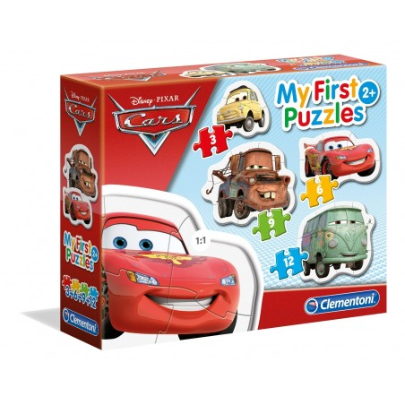 Puzzle 3-6-9-12 pezzi My First Puzzles Cars