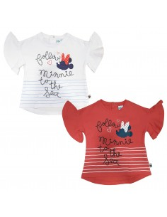T-Shirt baby in cotone premium Minnie