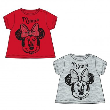 T-Shirt baby in cotone Minnie