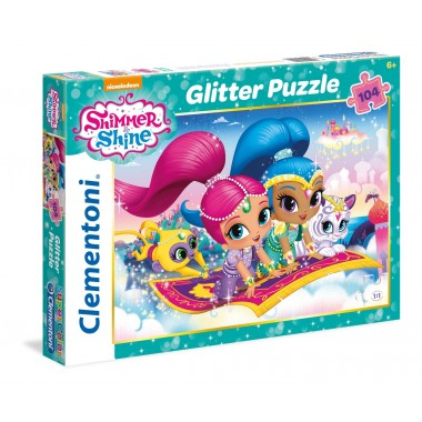Puzzle 104 Glitter Shimmer And Shine