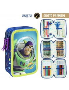Astuccio 3 zip basic 18+17 Toy Story Buzz Lightyear