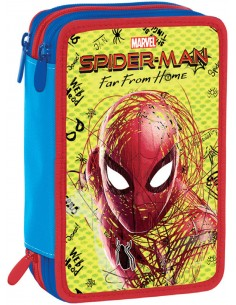 Astuccio 3 Zip Seven Seven - Spiderman