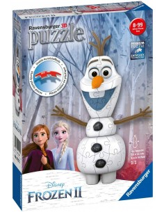 Puzzle Ball 3D Shaped Olaf Frozen 2