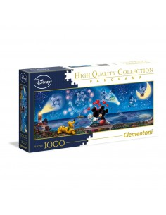 Puzzle 1000 Panorama Mickey&Minnie New Format