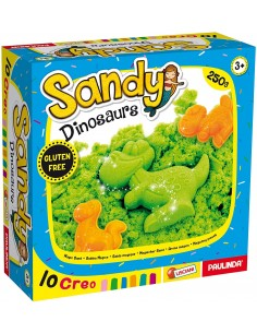 Sandy Play Basic 250g con formine sabbia