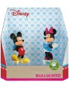 Personaggio 10cm box set 2pz Topolino e Minnie Valentine